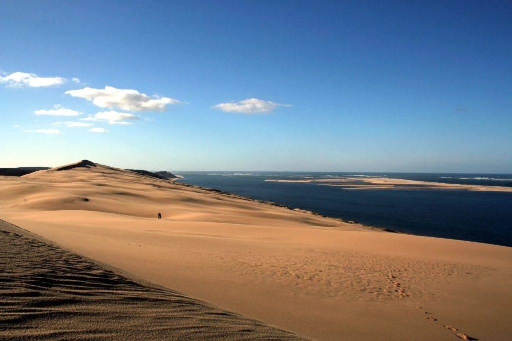 Dune sur le banc d'arguin