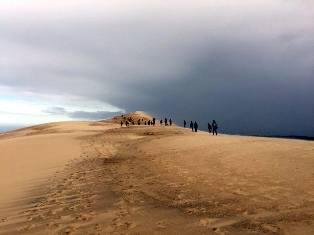 Randonnée sur les dunes au banc d'Arguin